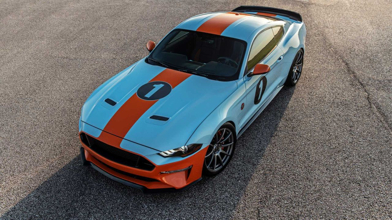 Ford Mustang GT Gulf Heritage Edition-3