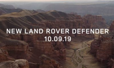 Land Rover Defender teaser