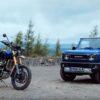 Triumph Scrambler vs Suzuki Jimny