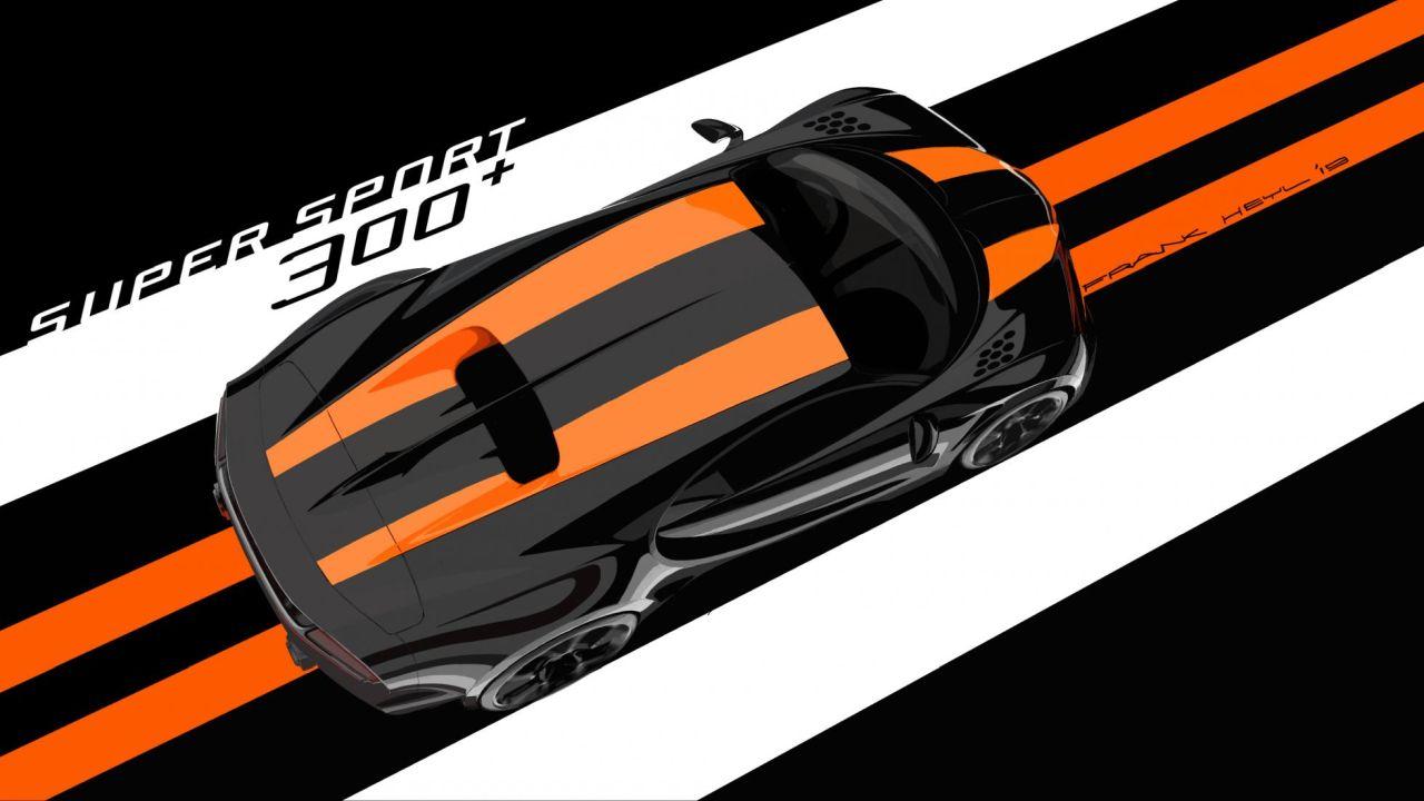 Bugatti Chiron 300 plus-rendering-4