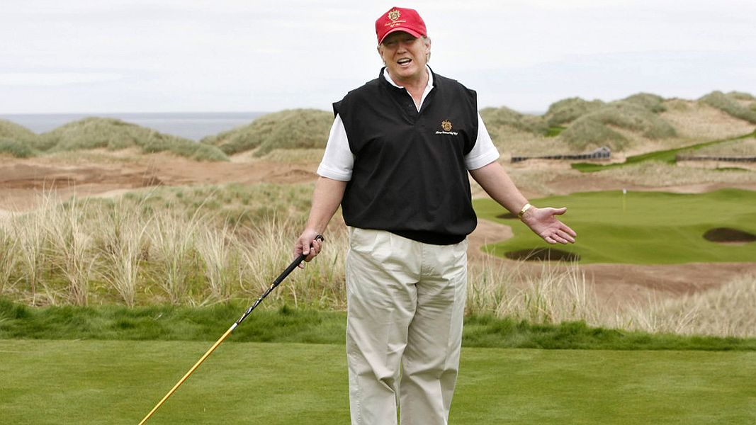 Donald Trump-Golf