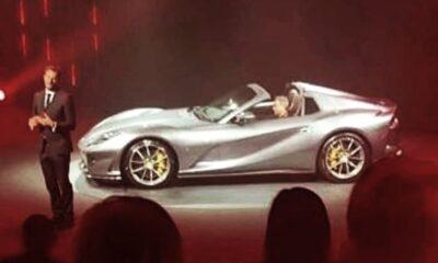 Ferrari 812 Spider-leaked