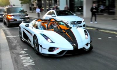 Koenigsegg Regera-London