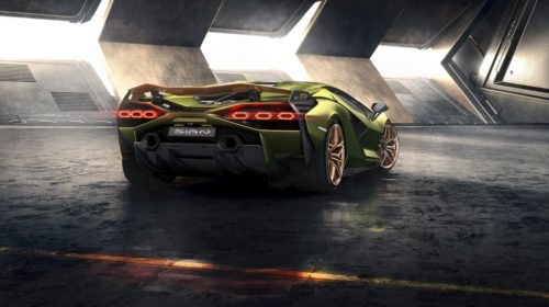 Lamborghini Sian-4