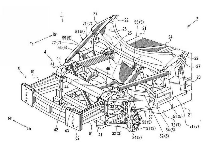 Mazda RX-9 patent image
