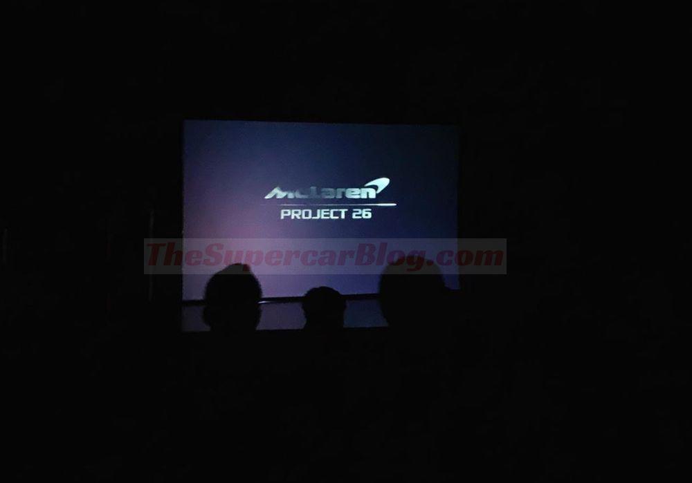 Mclaren Project 26