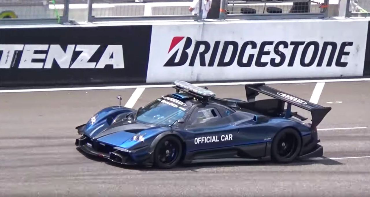 The Pagani Zonda R Has To Be The Coolest Safety Car Of All Time The Supercar Blog
