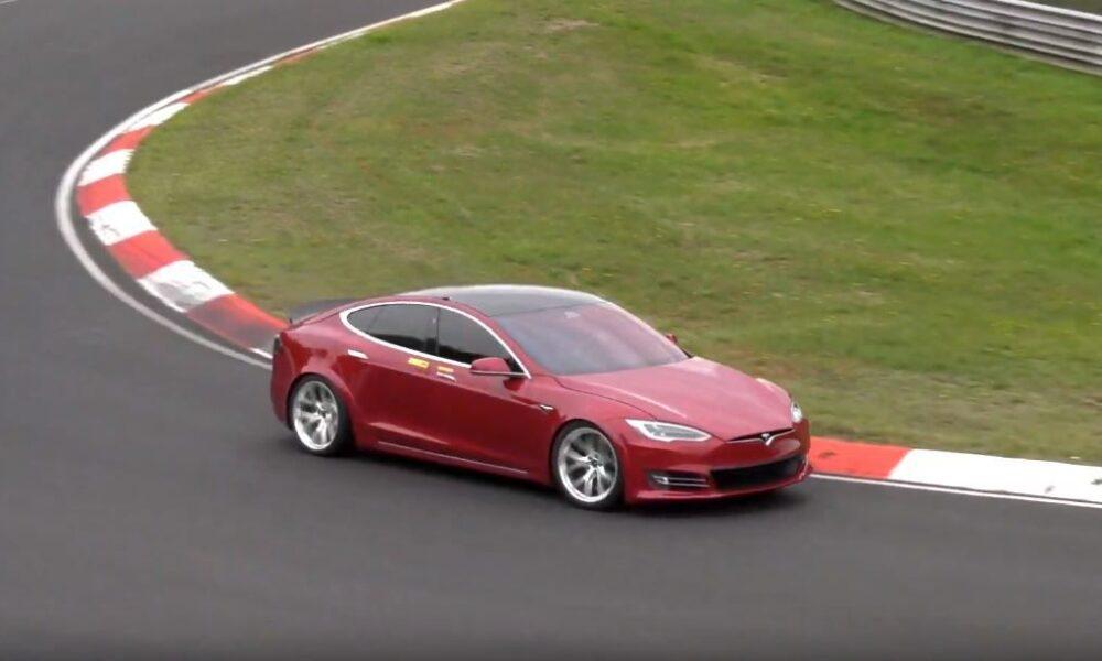 Tesla Model S-Nurburgring-lap-record