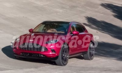 2020 Aston Martin DBX-leaked-spy-images-2