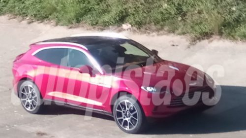 2020 Aston Martin DBX-leaked-spy-images-3
