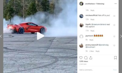 Corvette-C8-burnout-donut