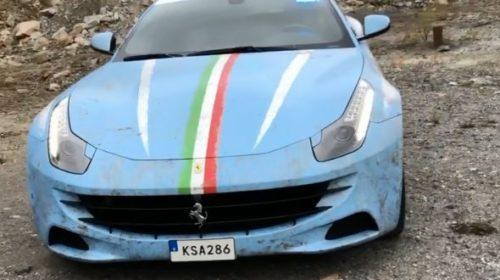 Ferrari FF-Police-car-Italy-2