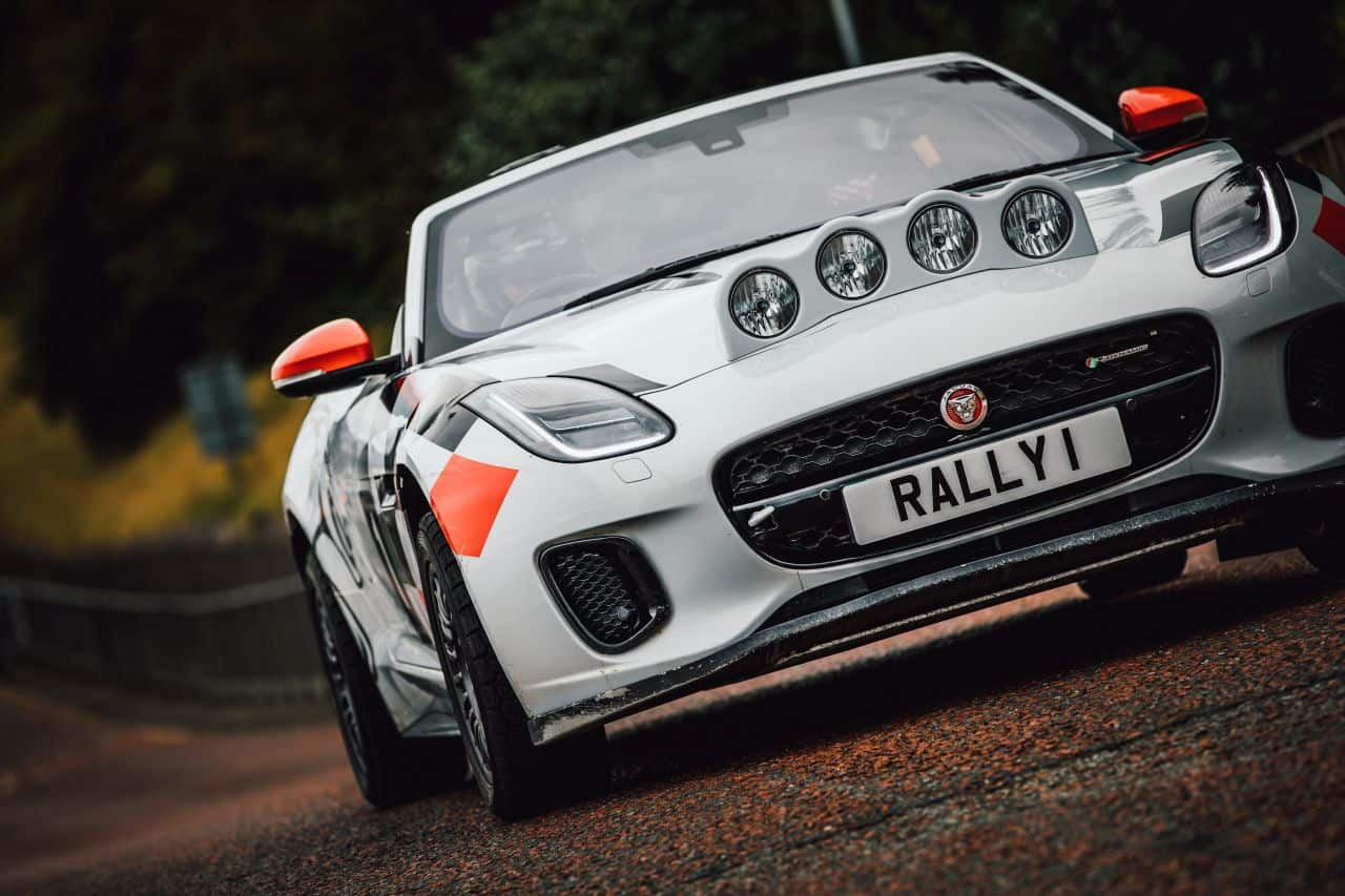 Jaguar F-TYPE Rally Car-Wales Rally GB-2