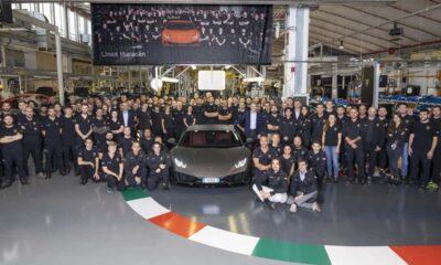 Lamborghini Huracan-sales-milestone