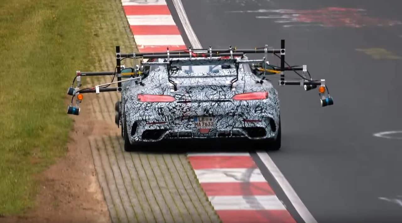 Mercedes-AMG GT R Black Series-test-mule-prototype-Nurburgring-1