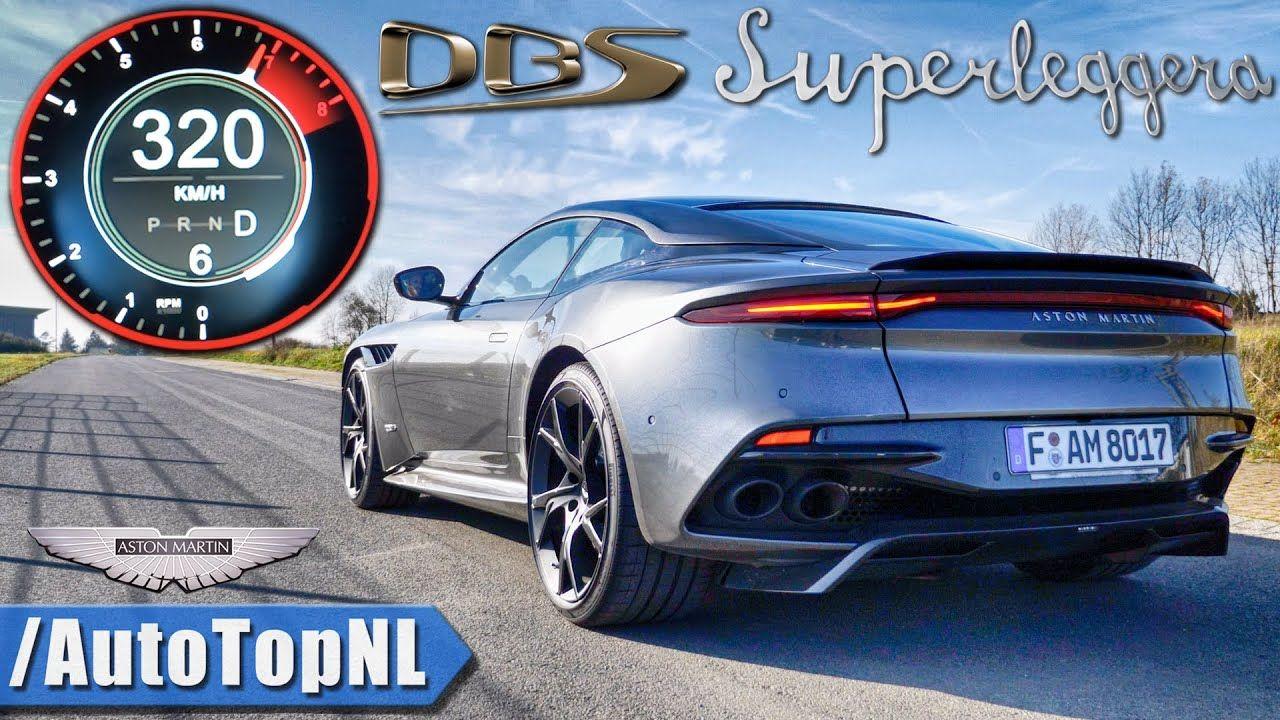 Aston Martin DBS Superleggera-Autobahn-Top Speed
