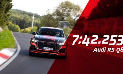 Audi RS Q8 Nurburgring Lap Record