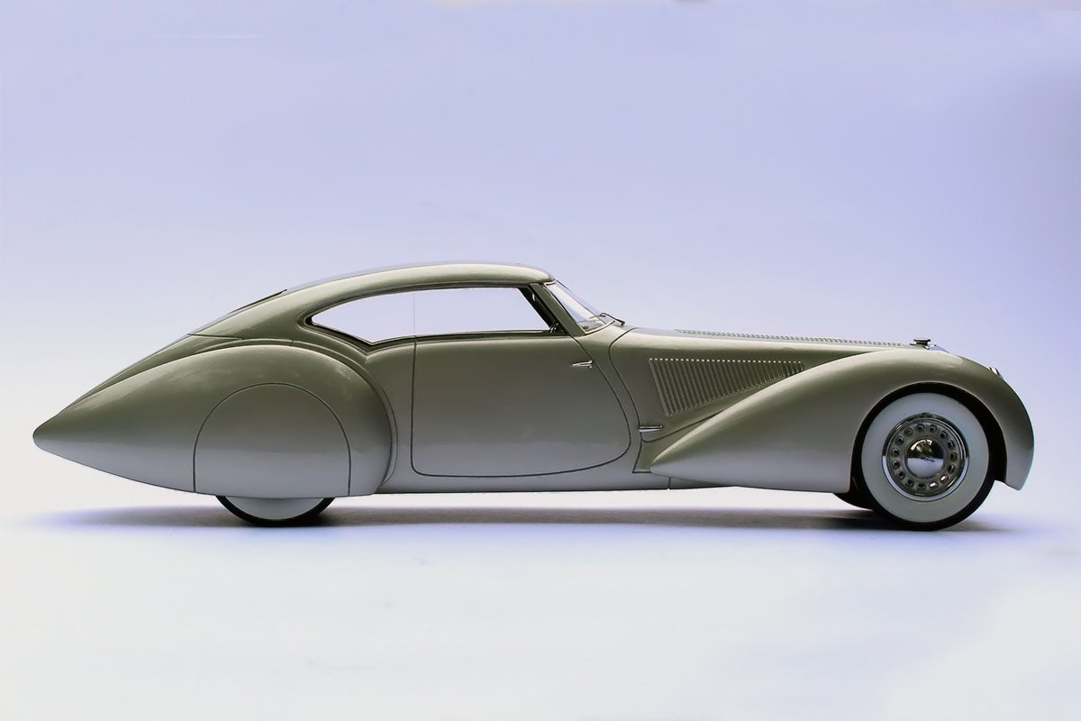 Delage D8-120 S Aerodynamic Coupe