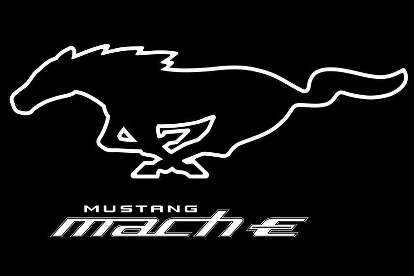 Ford Mustang Mach-E Electric SUV-Logo