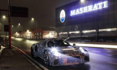 Maserati mid-engine super sports car prototype-1