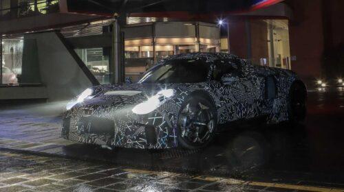 Maserati mid-engine super sports car prototype-4