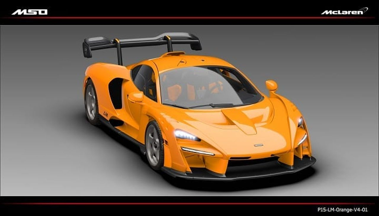 McLaren Senna LM-MSO-Orange-1
