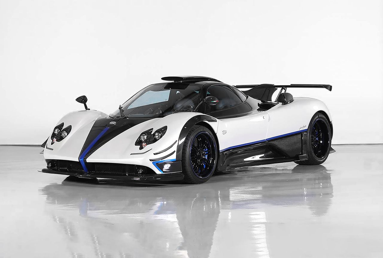 Pagani Zonda Riviera-auction-1