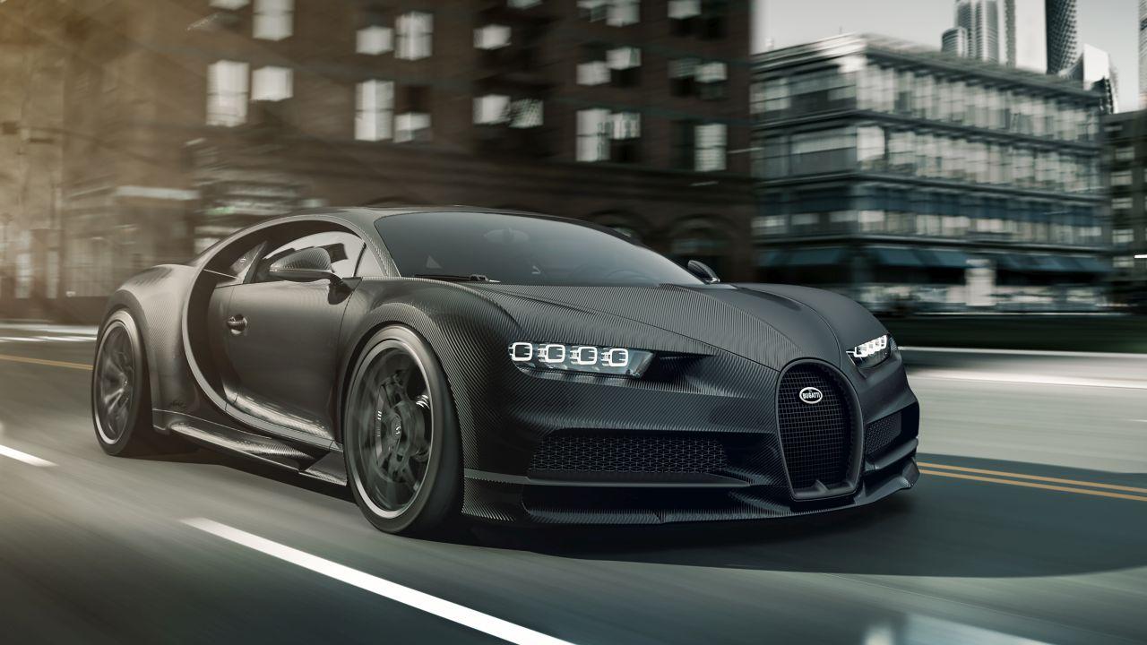 All-Black Bugatti Chiron Noire Special Edition-1