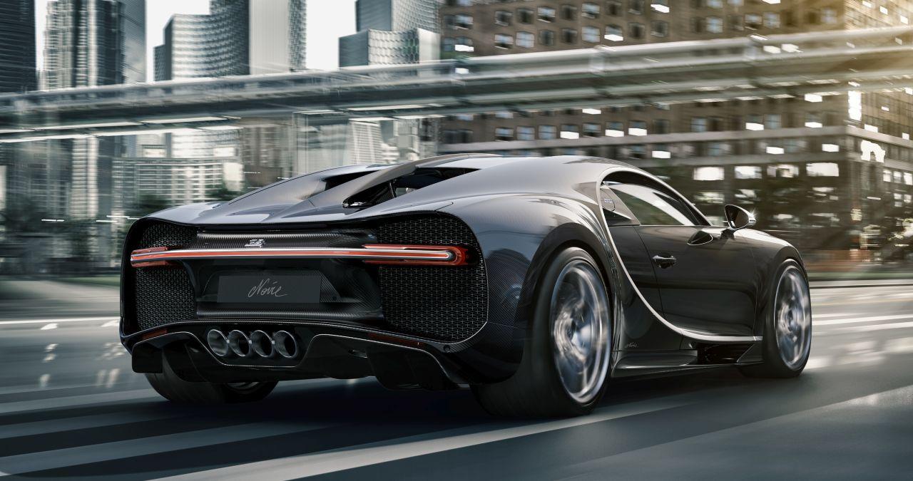 All-Black Bugatti Chiron Noire Special Edition-2