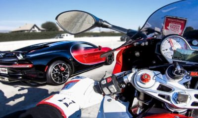 Bugatti Chiron-BMW S1000RR-street racing
