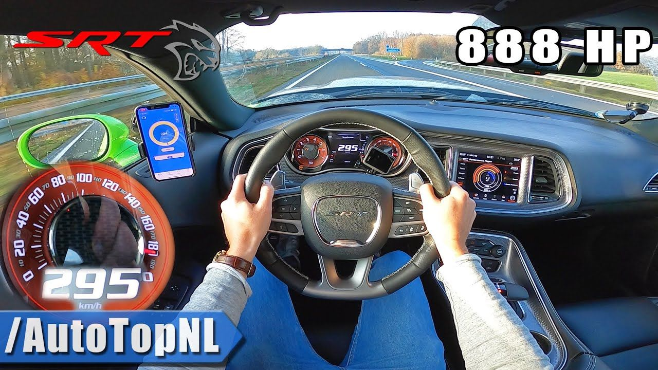 888 Hp Dodge Challenger Hellcat Xr Autobahn Top Speed Run The Supercar Blog