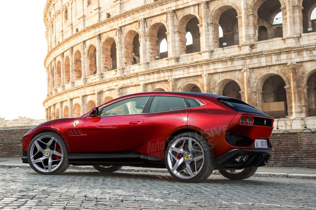 Purosangue Suv To Share Its Platform With The Ferrari Roma The Supercar Blog