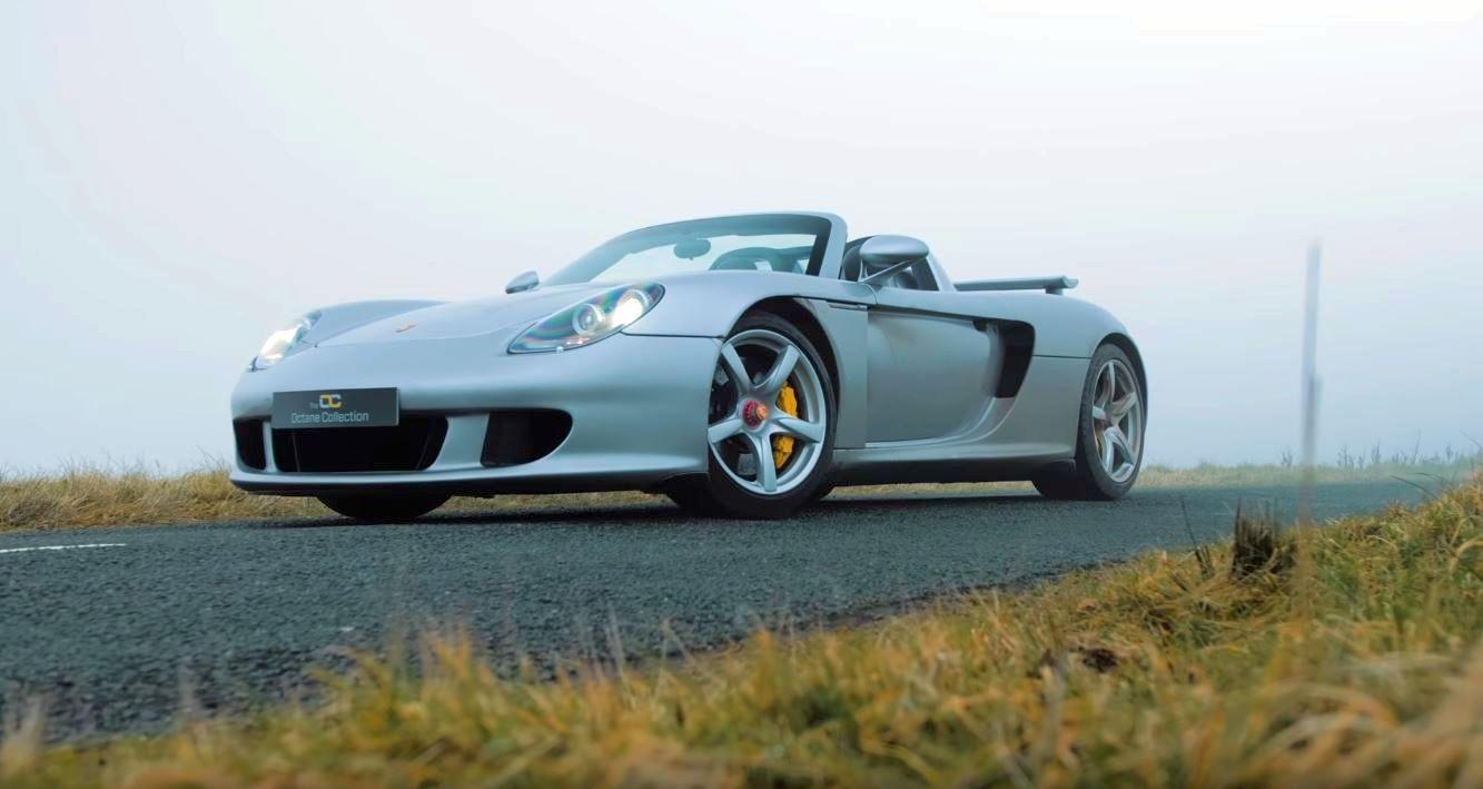 High Mileage Porsche Carrera GT-supercar-for-sale