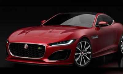 Jaguar F-Type facelift-coupe-convertible-leaked-images-1