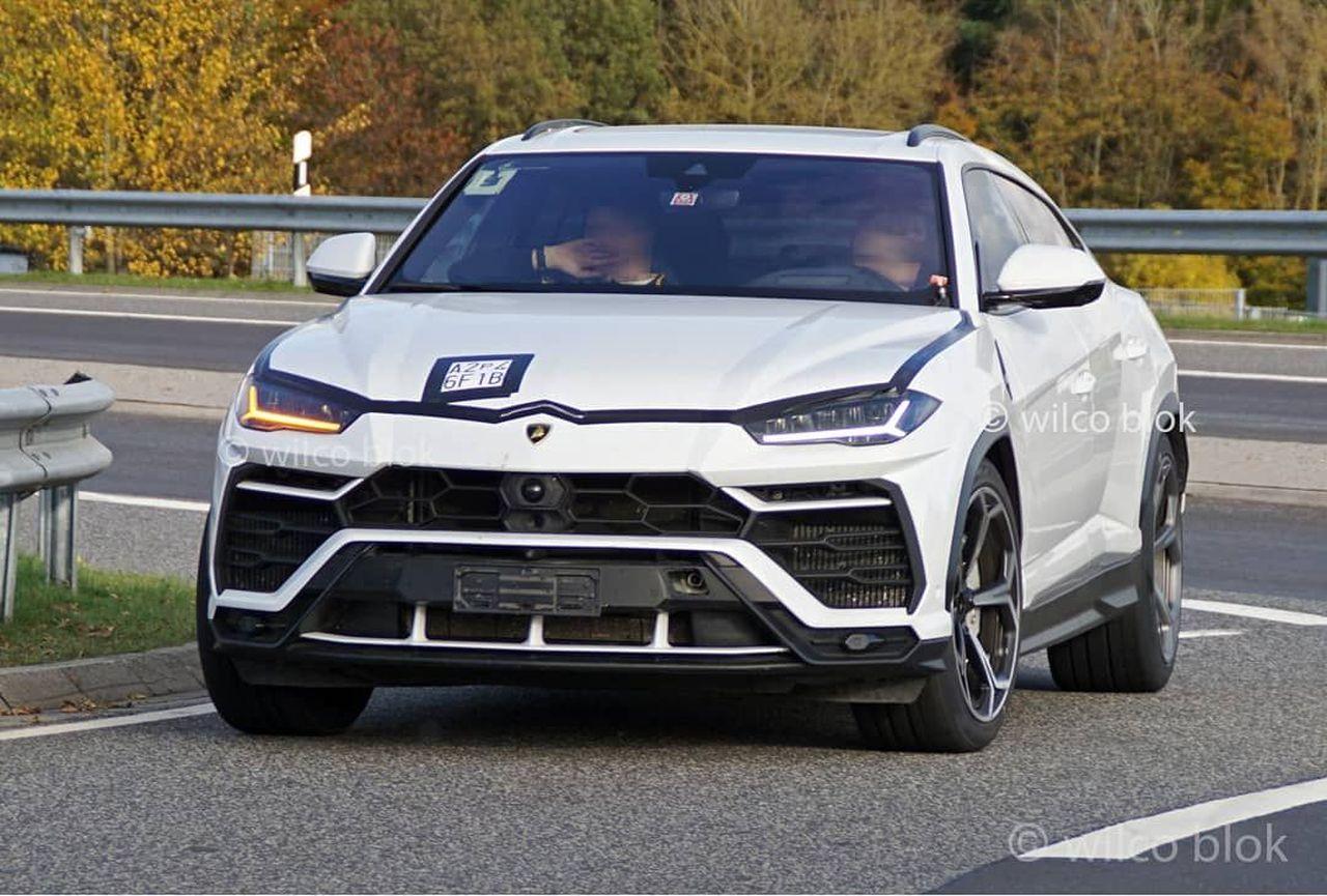 Lamborghini Urus ST-X test mule-prototype-1