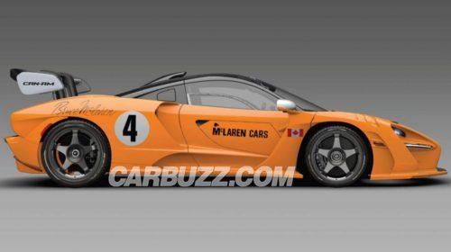 McLaren Senna Can-Am-LM-GTR-1