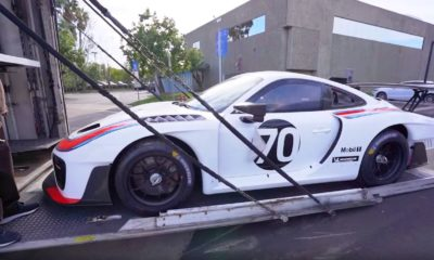 Porsche 935-Manny Khoshbin-delivery