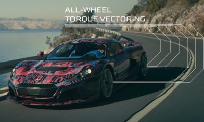 Rimac C_Two prototype-test mule