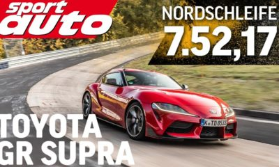Toyota GR Supra-Nurburgring-Lap Time