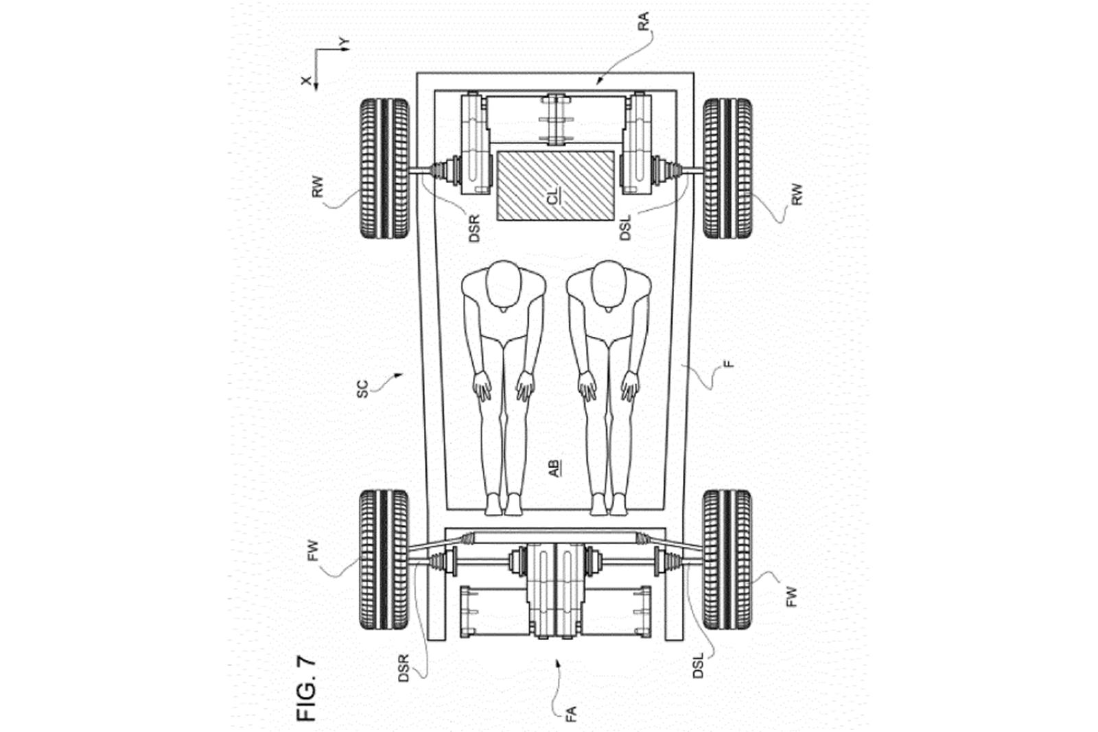 Ferrari Electric Supercar-Patent-2