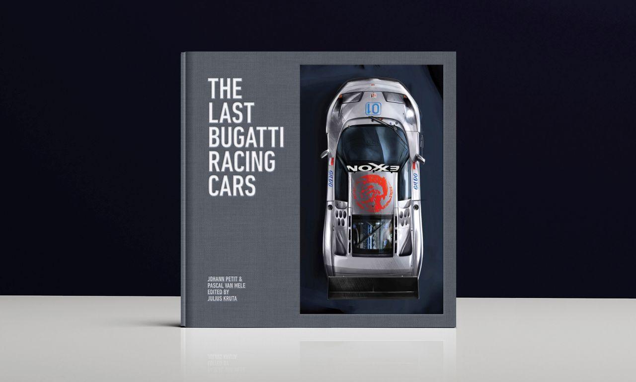The Last Bugatti Racing Cars-EB110 Book-Retromobile-2