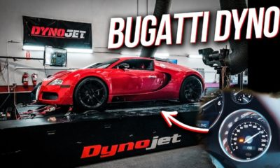 Bugatti Veyron dyno-run