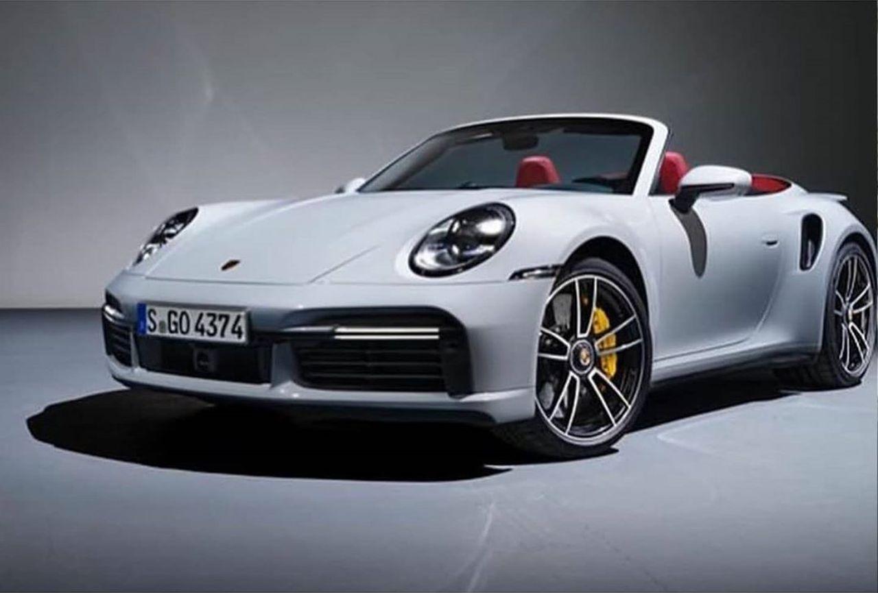 2021 Porsche 911 Turbo Cabriolet-Leaked