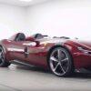 Burgundy Ferrari Monza SP2-Topaz Detailing