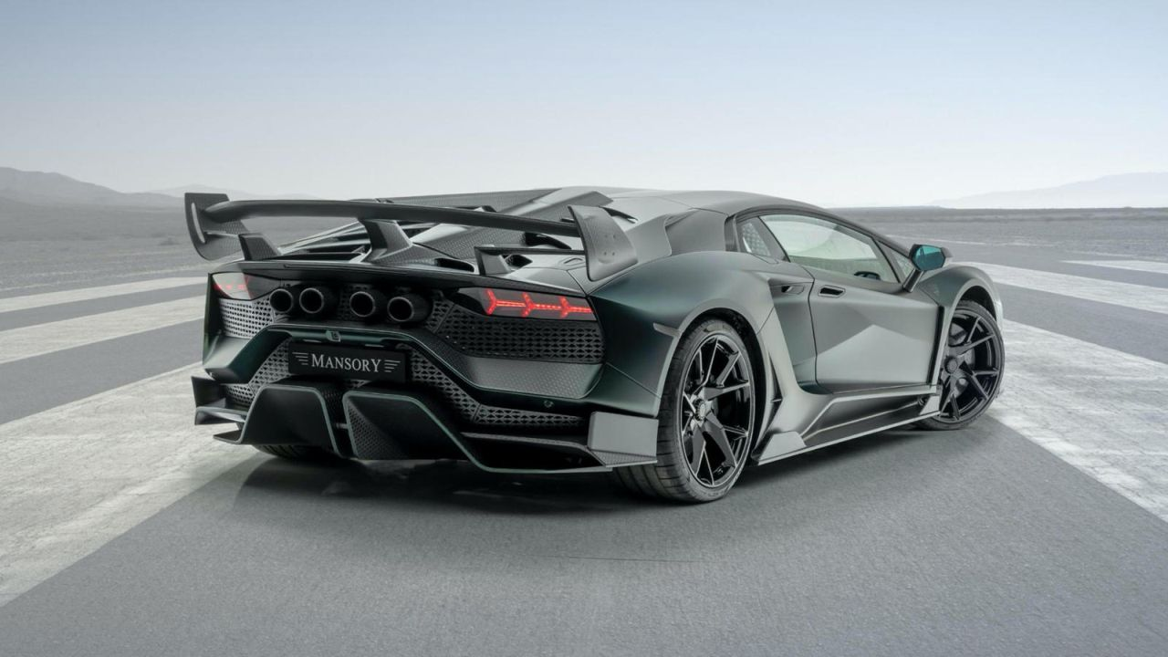 Mansory Cabrera-Lamborghini Aventador SVJ-2