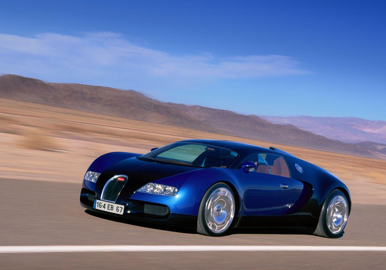 2001 Bugatti EB 16·4 Veyron-1
