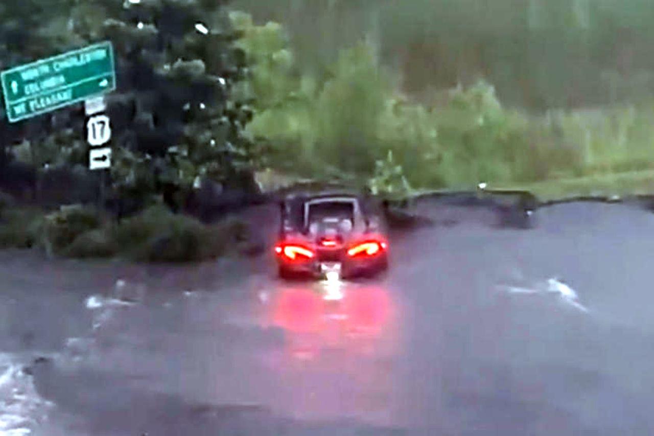 McLaren 600LT Flood Damage-Charlestown