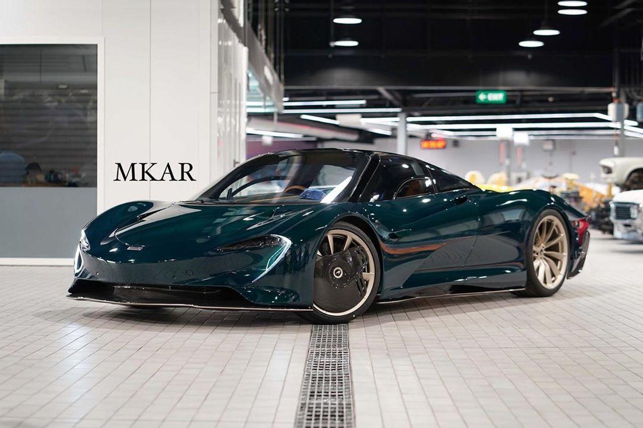 McLaren Speedtail Green Carbon_Bahrain-1