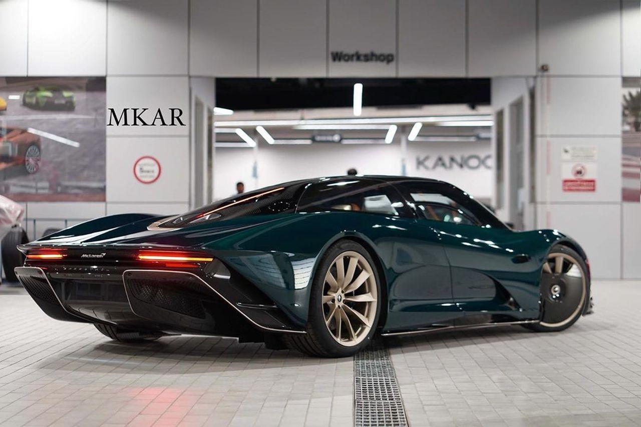 McLaren Speedtail Green Carbon_Bahrain-2