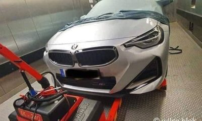 Next-gen BMW 2 Series Coupe-spy shots-1